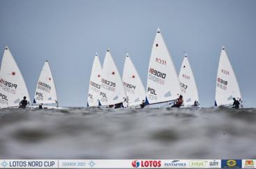LOTOS Nord Cup Gdańsk 2021, DZIEŃ 6 - klasy ILCA6 (Laser Radial), ILCA7 (Laser Standard), ILCA4 (Laser 4.7)