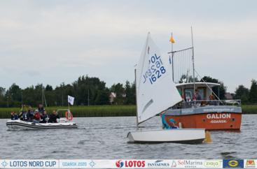 LOTOS Nord Cup Gdańsk 2020, DZIEŃ 8 - II Sol Marina Race - klasa Optimist
