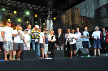 wręczenie Bursztynowego Pucharu Neptuna - 09,07.2011