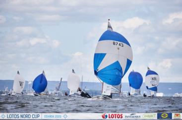 LOTOS Nord Cup Gdańsk 2020, DZIEŃ 14 - ZAKOŃCZENIE klasy Korsarz, 505 i J70
