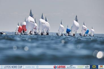 LOTOS Nord Cup Gdańsk 2021, DZIEŃ 4 - klasy Finn, Europa, 420, 470, Hobie Cat 14 i 16