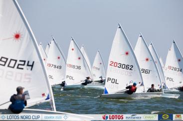 LOTOS Nord Cup Gdańsk 2020, DZIEŃ 3 - I Sol Marina Race i klasy Laser Standard, Radial i 4.7