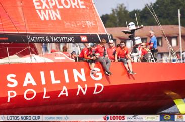 LOTOS Nord Cup Gdańsk 2020, DZIEŃ 4 - Finish Orvaldi B8 Race i klasy Europa, Finn, Open Skiff i L'Equipe.