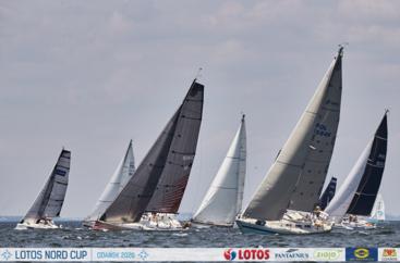 LOTOS Nord Cup Gdańsk 2020, DZIEŃ 11 - Bursztynowy Puchar Neptuna i klasy 420, Flying Dutchman, Hobie Cat, Nautica 450, Delphia 25OD