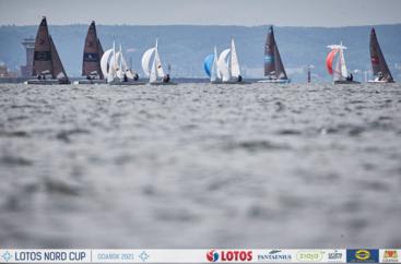 LOTOS Nord Cup Gdańsk 2021, DZIEŃ 3 - klasy Finn, Europa, 420, 470, Hobie Cat 14 i 16, OK-Dinghy, Open Skiff i RS 21