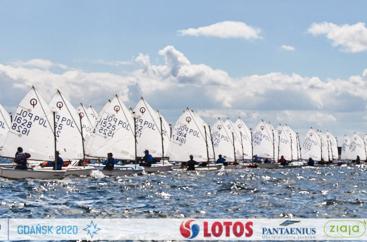 LOTOS Nord Cup Gdańsk 2020, DZIEŃ 9 - Vector Sails Cup klasa Optimist