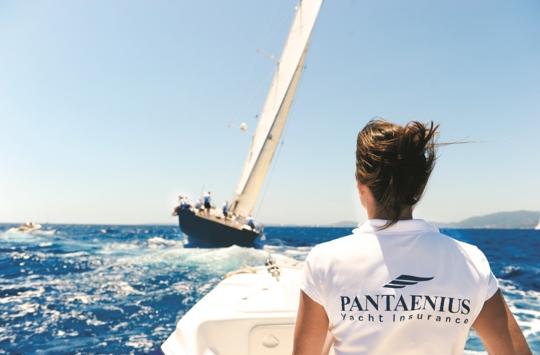 Pantaenius żegluje z Wami
